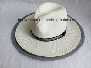 80% Paper 20%Polyester with Lace Edge Safari Hats