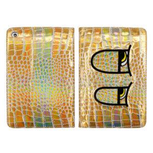 Crocodile Leather Cases for iPad with Angle Adjust and Sleep Function