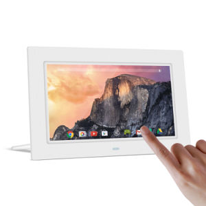 10inch LCD Touch Screen Android WiFi Digital Photo Frame (A1001T) pictures & photos