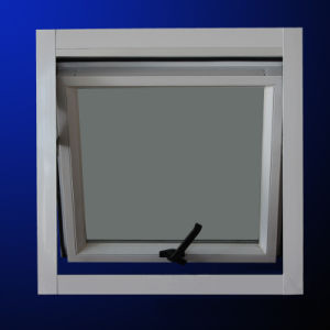High Quality Powder Coated Aluminum Profile Awning Window with Screen pictures & photos