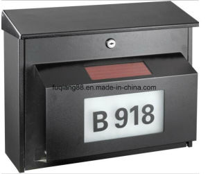 European Style Waterproof Mailbox, Solar Mailbox pictures & photos