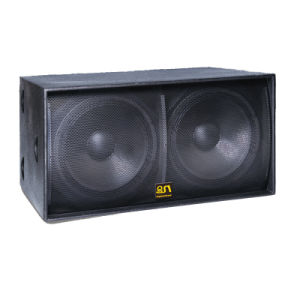 "Line Array Subwoofer Dual 18"" Subwoofer Peaker pictures & photos"