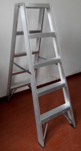 Aluminium Double Side Step Ladder pictures & photos