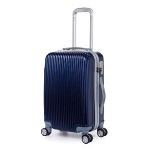 The Dark Blue PC Luggage Set (hx-qo67) pictures & photos