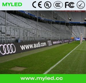 Football Stadium LED Display Screen, LED Stadium TV Screen, Soccer Football Stadium Perimeter LED Screen Display pictures & photos