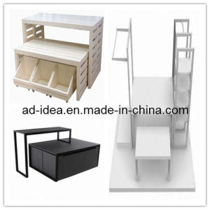 Wooden Exhibition Stand/Poptable Display Stand for Garment (GARMENT-1123) pictures & photos