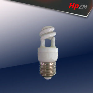 E27 3W Half Spiral Fluorescent Lamp pictures & photos