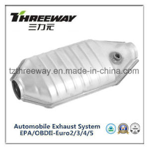 Car Exhaust System Three-Way Catalytic Converter #Twcat035 pictures & photos
