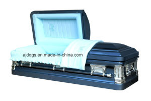 American Style Metal Coffin (18038239) pictures & photos