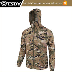 7-Colors Camo Ultrathin Outdoor Climbing Camping Clothing Apparel Sunscreen Clothing pictures & photos