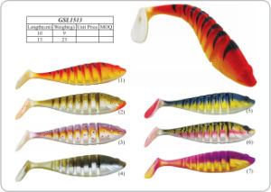 Fragrant PVC Soft Fishing Bait pictures & photos