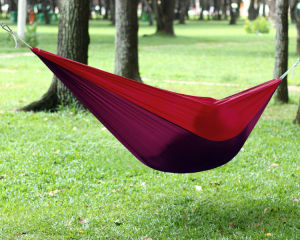 Carries Portable Lightweight Parachute Nylon Diamond Hammock pictures & photos