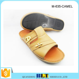 Blt Men Summer Camel Slipper with Buckle pictures & photos