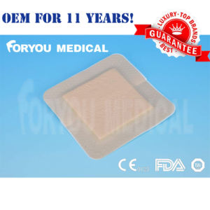 Diabetic Foot and Press Ulcers for Border Silicone Foam Dressing pictures & photos