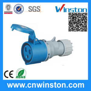 Wst-510 3pin 16A High-End Type Waterproof Industrial Connector with pictures & photos