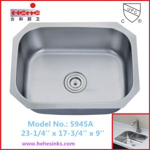Single Bowl Stainless Steel Sink Kitchen Sink Wash Sink 5945