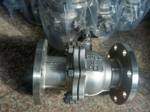 Stainless Steel Ball Valve with Flange End for Flanged Valve (Q41) pictures & photos