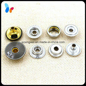 Plating Technic Hole Cap Metal Ring Snap Button for Jacket pictures & photos