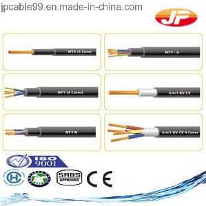 Nyy Power and Control Cable for Fixed Installation HD 603 DIN VDE 0276 Bs 6346 pictures & photos