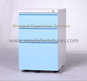 Mobile Pedestal Cabinet with Lock pictures & photos