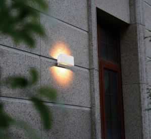 White Housing for 6W Outdoor LED Wall Light pictures & photos