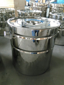 Stainless Steel Ribbed Drum 200L pictures & photos