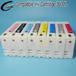350ml Disposable Ink Cartridge for Epson Stylus PRO 9890 7890 Pigment Ink Cartridge with Compatible Chip pictures & photos