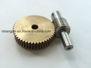M=1 Set Worm Gear and Worm Wheel