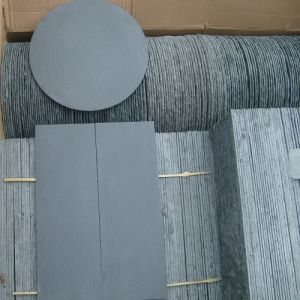 Split Natural Grey Slate Stone Tiles for Roofing/Wall Cladding pictures & photos