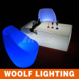 Outdoor Illuminated Plastic LED Modern Event Furniture pictures & photos