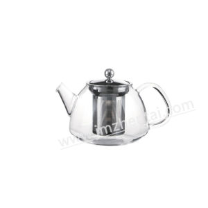 Ultra Clear Pyrex Stovetop Heat Resistant Glass Teapot pictures & photos