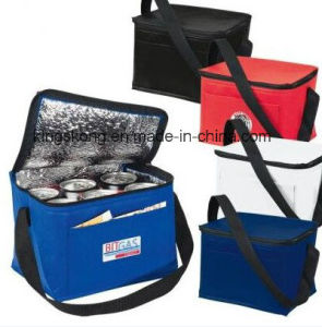 Outdoor Fitness Nonwoven Insulated Lunch Bag Cooler Bag pictures & photos
