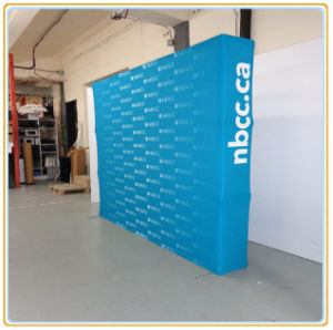 Aluminum Spring Popup/Pop up Stand/Advertising Pop up Display (10FT Straight) pictures & photos