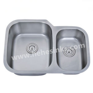 Under Mount Kitchen Sink Made of Stainless Steel 304 (7553AL) pictures & photos