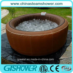 Computerized Whirlpool Massage Outdoor SPA Jacuzzi (pH050010 Brown) pictures & photos