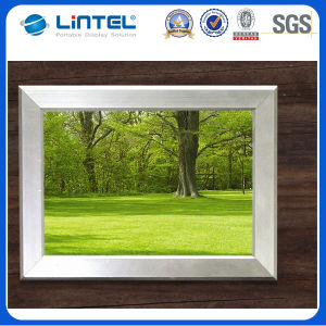 25mm Round Corner Clip Stand Advertising Picture Frame (/A0A1/A2/A3//B1/B2/B0) pictures & photos