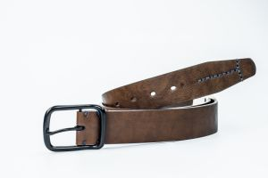 New Design Fashion High Quality Leather Belt Jeans Belt Eubl1967-38 pictures & photos