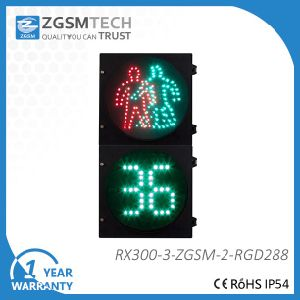 300mm 12 Inch 2 Digital Countdown and Pedestrian LED Signal pictures & photos