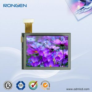 Rg-T350mtqi-02p 3.5 Inch Psi+18bit TFT LCD Screen with Touch Screen pictures & photos