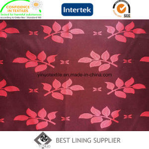 T/R Men′s Suit Jacquard Lining Fabric Supplier pictures & photos