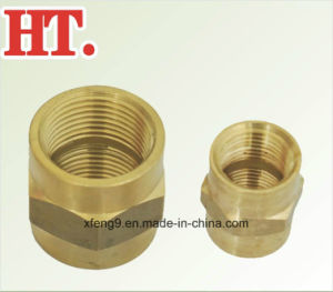Lead Free Brass Pipe Coupling NPT Female Threaded Fitting (FIP X FIP) pictures & photos