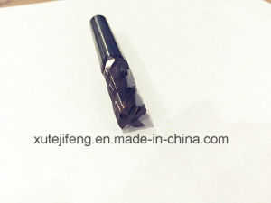 9*25*10*75 4 Flute Tialcrn Solid Carbide End Mill for Cutting Metal pictures & photos