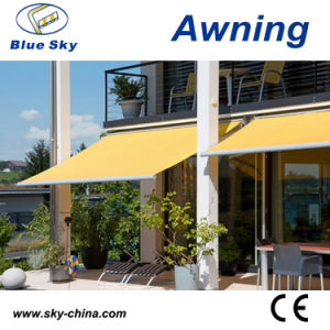 Economic Full Cassette Motor Retractable Awning (B3200) pictures & photos