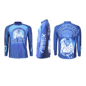 Sublimation Printed Lycra Long Sleeve Bjj Rash Guard pictures & photos