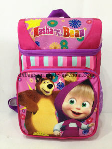 New Style School Bag of Masha&Bear School Bag Backpack pictures & photos