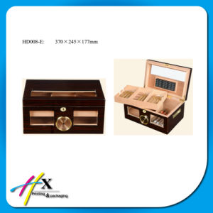 Piano Lacquered Wooden Cigar Humidor Box pictures & photos