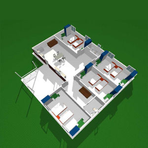 Well Design Light Steel Prefab Villa House pictures & photos