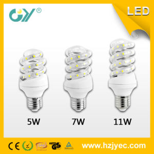 Spiral LED Energy Saving Lamp 5W SMD2835 IC Driver pictures & photos