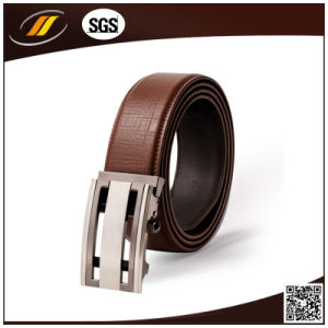 Factory Wholesale Automatic Buckle Man Genuine Leather Belt