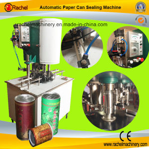 Automatic Single Head Paper Can Sealing Machine pictures & photos